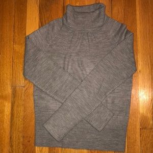 Takeout Grey Turtle Neck Women's XL
